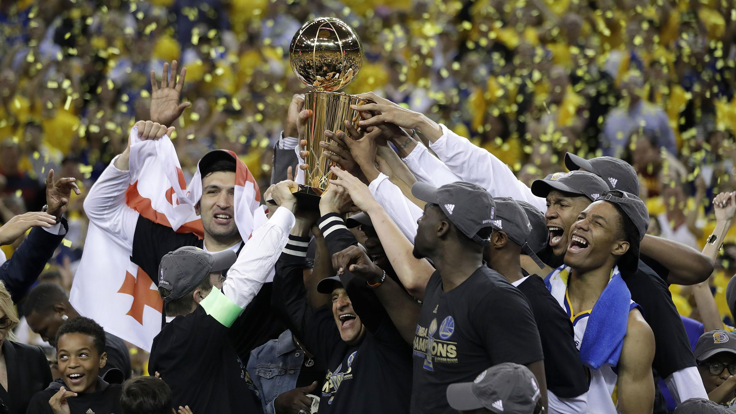 Golden State Warriors beat Cleveland Cavaliers to win NBA title