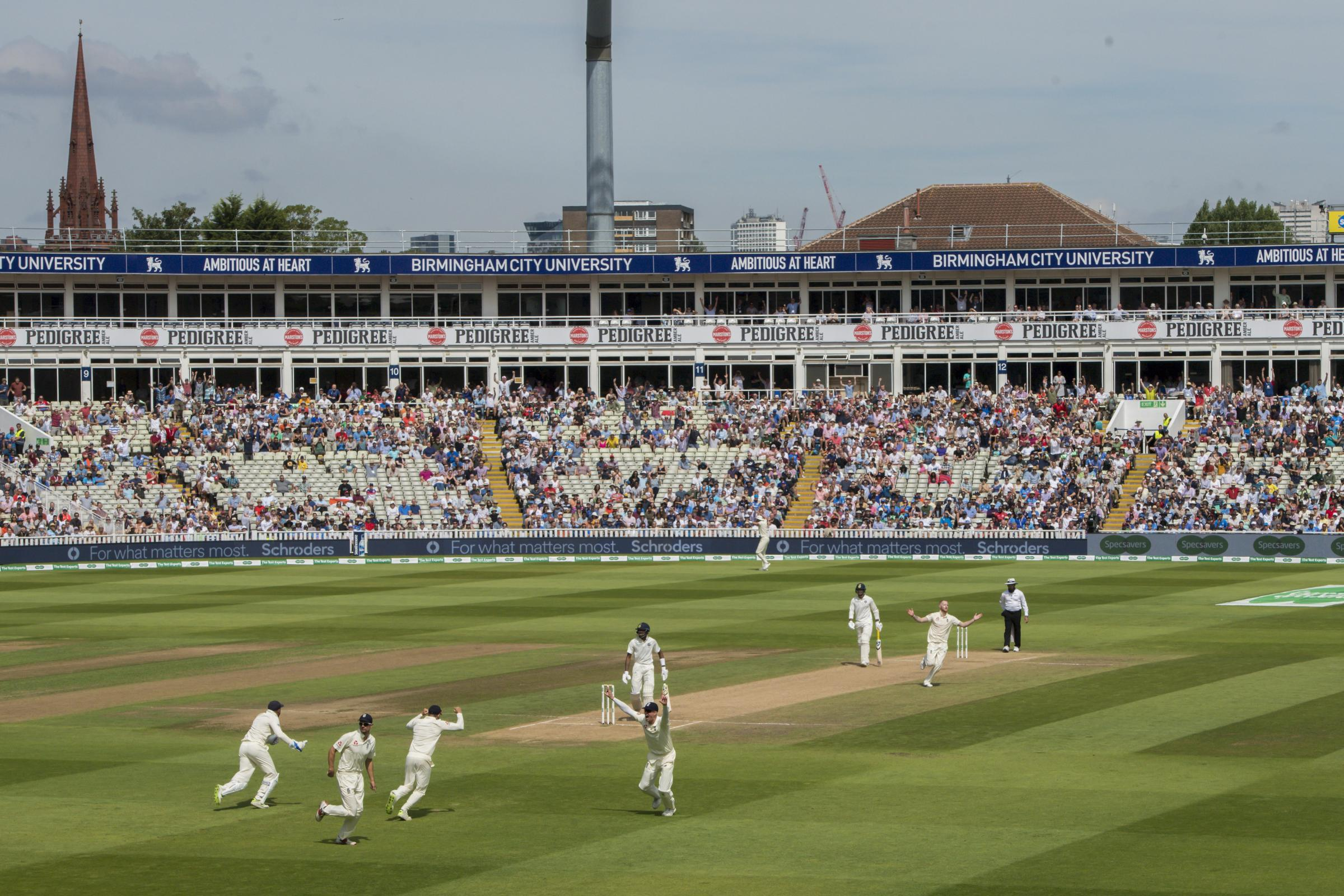 England v India – Specsavers First Test – Day Four – Edgbaston